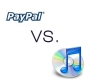 Paypal versus iTunes - mobile shopping